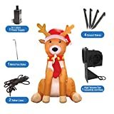 AirFormz by Aqua Leisure Inflatable Holiday Decorations, Reindeer
