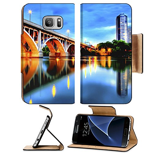 MSD Premium Samsung Galaxy S7 Flip Pu Leather Wallet Case IMAGE ID: 11079311 Saskatoon is located in central Canada and is popularly described as the Bridge City for its seven - Saskatoon Glasses