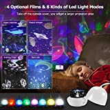 Star Night Lights for Kids - 4 Set Films 360 Degree
