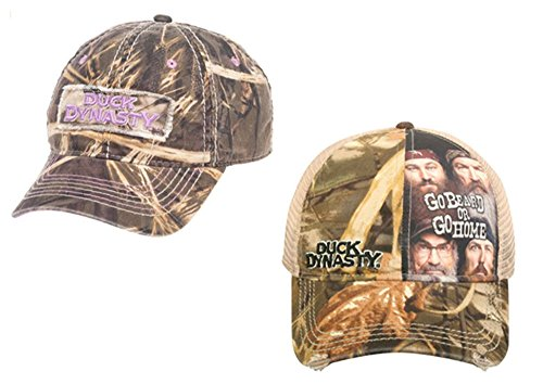 Realtree His/Hers Ball Cap Bundle Camo Duck Dynasty