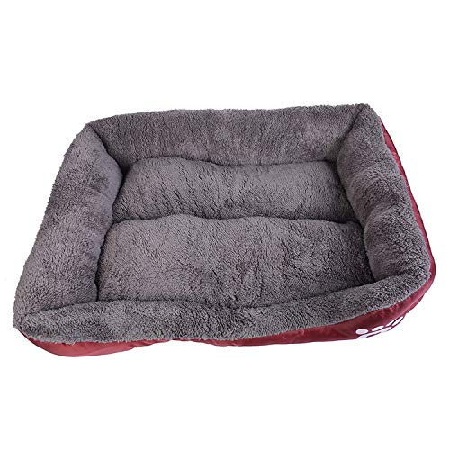 Dog Kennel Dogs Bed for Small Medium Large Dogs Pet House Warm Cotton Puppy Cat Bed for Dog Bed Pet Supplies,I,68cmx55cmx16cm