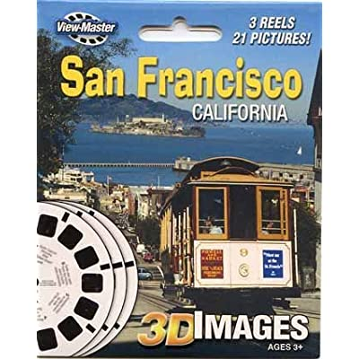 ViewMaster 3Reel Set - San Francisco, California - 21 3D Images by 3Dstereo ViewMaster: Toys & Games