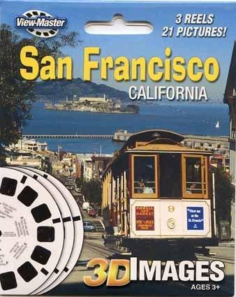 ViewMaster 3Reel Set - San Francisco, California - 21 3D Images by 3Dstereo ViewMaster