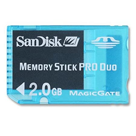 Amazon.com: SanDisk sdmsg-2048-a11 2 GB Tarjeta MS Pro Duo ...