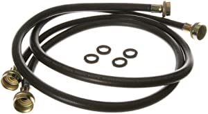 GE WH41X10207 Washing Machine 2 Pack Rubber Inlet Hose, 4' Size, Original Equipment (OEM) Part