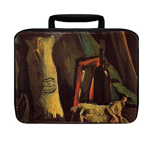 A Basket Of Crocuses (Van Gogh) Insulated Lunch Box Bag (Basket Crocus)