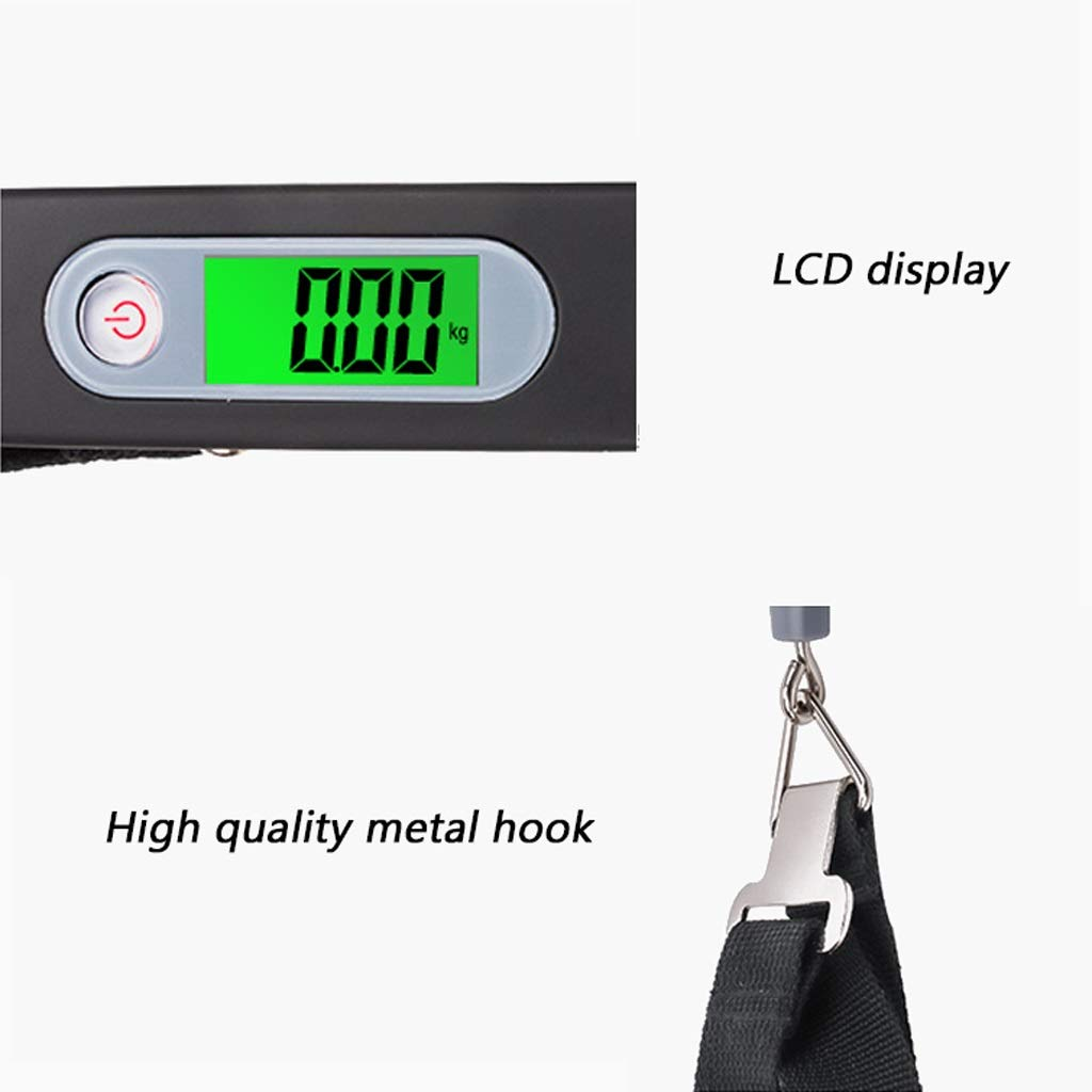 198c95664a3c Amazon.com: SKATEGY Electronic Luggage Scale, Portable Digital ...