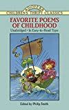 : Favorite Poems of Childhood (Dover Children's Thrift Classics)