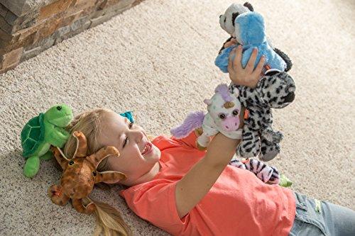 517CL5qpeWL - Wild Republic Huggers Unicorn Plush, Slap Bracelet, Stuffed Animal, Kids Toys, Unicorn Party Supplies, 8 inches