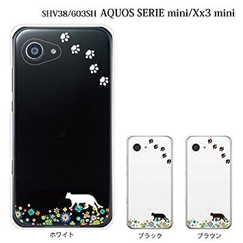 1eb9218745 au AQUOS SERIE mini SHV38 / SoftBank AQUOS Xx3 mini 603SH ケース カバー お花畑を歩く