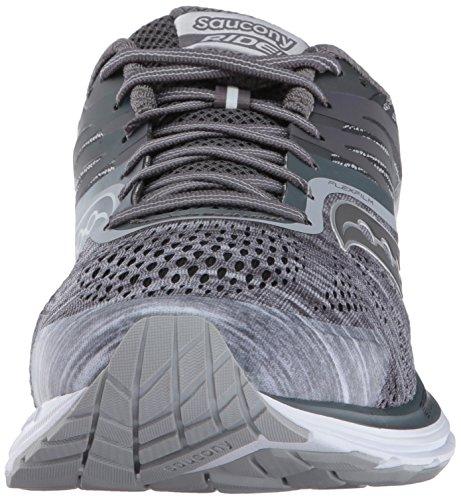Ride Running Saucony Grey Men's 10 Shoes azOxwqnP87