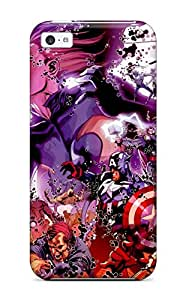 Durable Defender Case For Iphone 5c Tpu Cover(marvel)