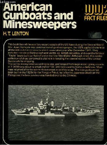 American Gunboats And Minesweepers  Ww2 Fact Files