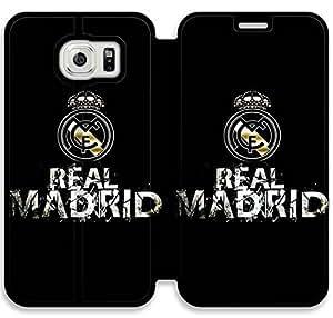REAL MADRID personalizado Flip funda Para Samsung Galaxy Funda S6 S6 Galaxy de Samsung Cubierta - HLWELKMGE9132
