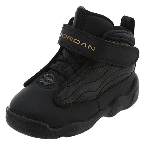 purchase cheap 1954e d5ac0 Jordan Boy s Pro Strong (TD) Toddler Shoe, Black Metallic Gold-Black 6C
