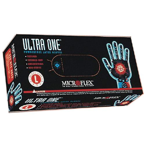 Microflex UL-315-L Latex Ultra One Gloves, Large (Pack of 500) by Microflex (Image #1)