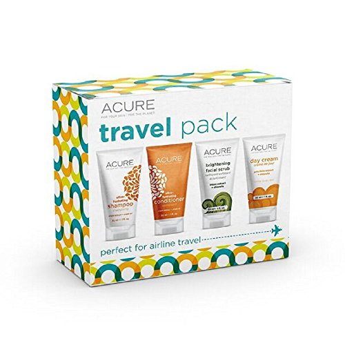 ACURE Essentials Travel Size Kit, Shampoo,...