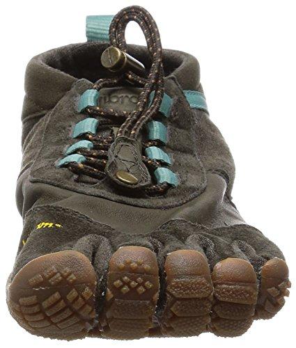 Vibram Womens Trek Ascent Light Hiking Shoe Caramel / Brown / Green WnUkvriw
