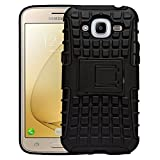 Samsung Galaxy J2 2016 J210F J2 Pro Defender Stylish Armour Protector Shockproof + TPU 360° Protection with Hybrid Kickstand Back Case Cover Easy To Carry By Shoppers Point…
