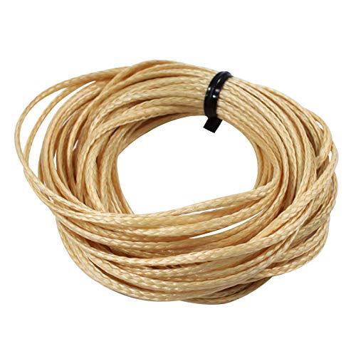 ASR Outdoor Technora Composite Survival Rope 1200lb Breaking Strength 25ft Tan by ASR Outdoor