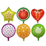 fruits party - LoveInUSA Fruit Helium Foil Balloons,Different Shaped Fruit Helium Foil Balloons Birthday Valentine's Day Party Wedding Supply 18