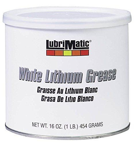 Plews-Edelmann 11350 Lubrimatic Lithium Grease, 16 oz Can, White,Pack of 1 ()
