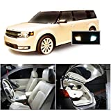 Ameritree Ford Flex 2009-2015 ( 7 Pcs ) Xenon white Premium LED Lights Interior Package