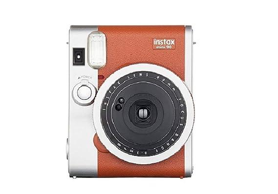 Fujifilm Instax Mini 90 Neo Classic Instant Film Camera  Brown  Instant Cameras
