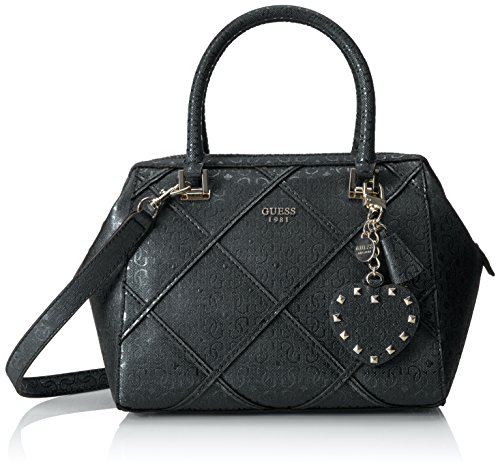 GUESS Winett Frame Satchel Black