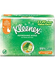 Kleenex Hand & Face Moist Wipes