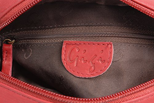 Shoulder Red Small 29 Body Leather Bag Cross Gigi OTH22 qfznpHTT