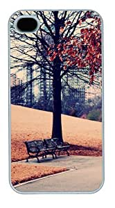 iphone 4 best case Landscapes park PC White for Apple iPhone 4/4S