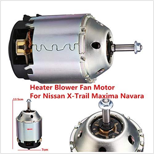 FidgetGear Car Heater Blower Fan Motor For Nissan X-Trail Maxima 2001-13: