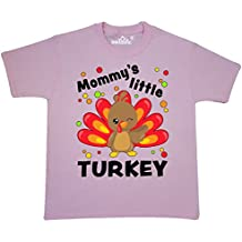 Inktastic - Mommy's Little Turkey Youth T-Shirt