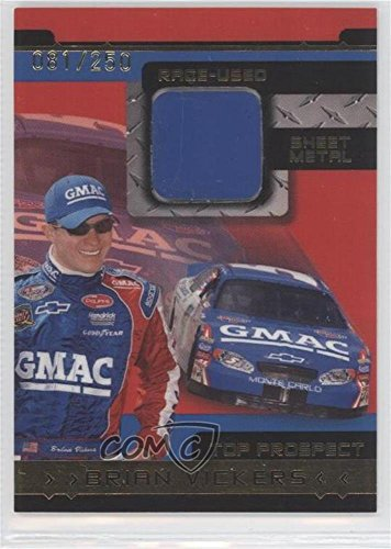 Brian Vickers #81/250 (Trading Card) 2003 Press Pass - To...