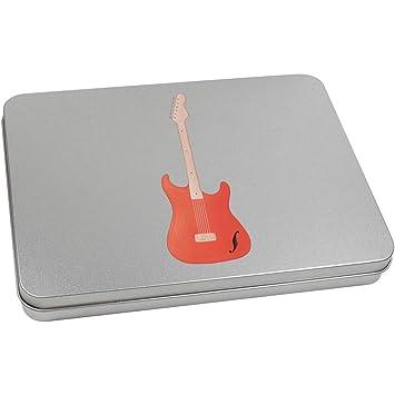 Azeeda 220mm x 160mm Guitarra Eléctrica Caja de Almacenamiento ...