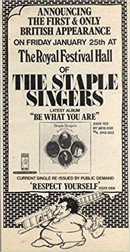 Press Advert 10x5 The Staple Singers : Be What You Are Album: Amazon.co.uk:  NewspaperClipping: Books