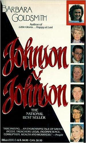Johnson V Johnson Barbara Goldsmith 9780440200413 Amazoncom Books