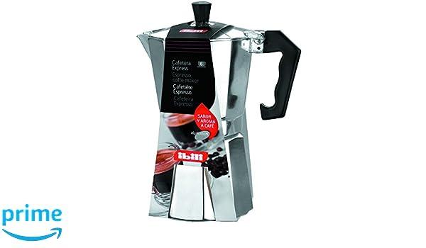 Amazon.com: Ibili Bahia Aluminium Espresso Coffee Maker ...
