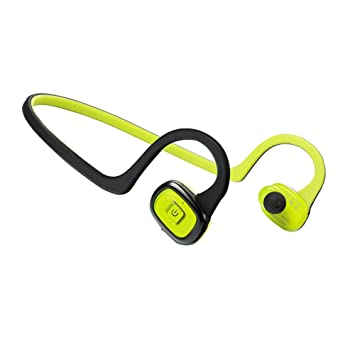 8527cc0f195 TaoTronics Bluetooth Headphones Wireless Sweatproof Soft Silicone Gel  Surface Sport Earphones - Black and Green