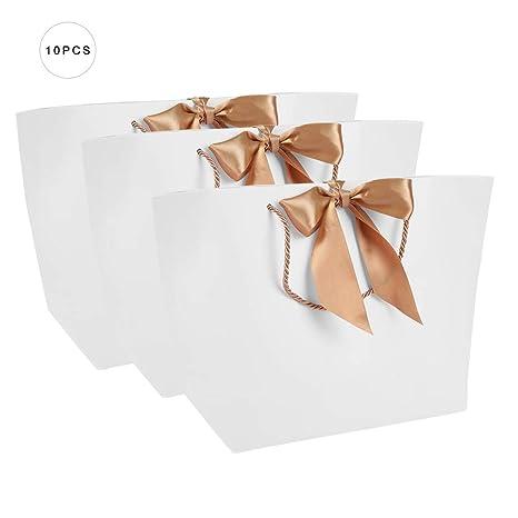 Pasamer 10pcs / lot regalo presente bolsas de papel con ...