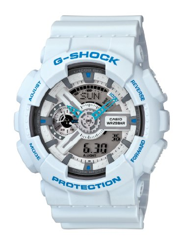 Casio Men's GA110SN-7A G-Shock Magnetic Resistance Multi-Function Digital Sport Watch, Watch Central
