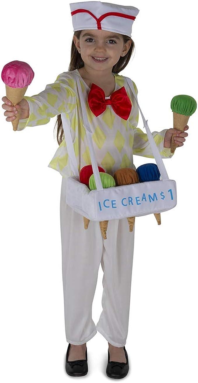 Dress Up America Ice Cream Costume For Kids Disfraces, Multi Color ...