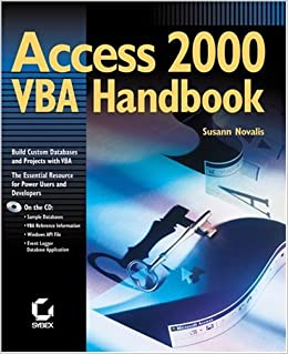 Access 2000 VBA Handbook