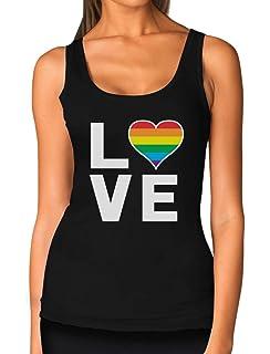 e9a459fd2535e TeeStars - Gay Love - Rainbow Heart Gay   Lesbian Pride Trucker Hat ...