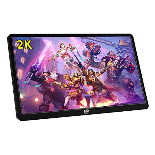 13.3 Inch 2K Portable Gaming Monitor with HDR,Support USB C and Hdmi Video Input,PD Charging,Compatible with Nintend Switch,PS4, PS3, Xbox ONE S,Xbox ONE,Computer Laptop Raspberry Pi MacBook