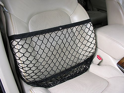 Netcessity Car Seat Organizer/Collapsible Seat Caddy - Caddy Seat Front