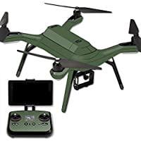 MightySkins Protective Vinyl Skin Decal for 3DR Solo Drone Quadcopter wrap cover sticker skins Solid Olive