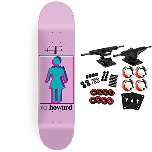 Girl Skateboard Complete Modern OG Howard (Og Logo Complete Skateboard)
