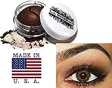 L.A. Minerals Brown Shimmer Eye Shadow - Espresso